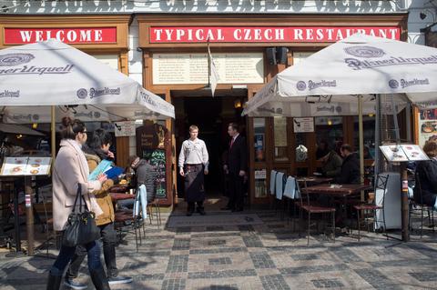 http://www.dreamstime.com/stock-images-typical-czech-restaurant-wenceslas-square-prague-czech-republic-image30151734