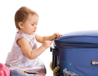 Dicas para evitar o stress na viagem com bebê