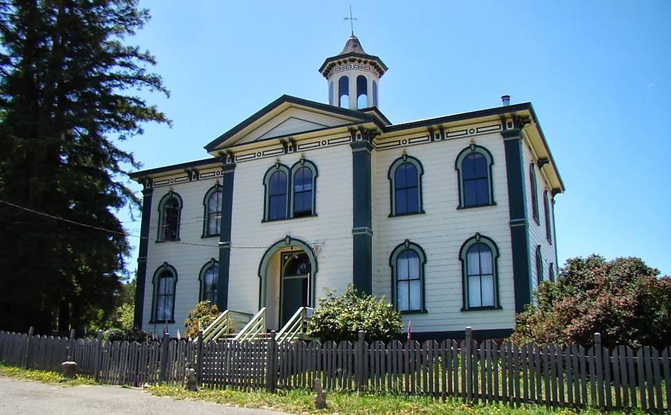 Potter Schoolhouse, Bodega Bay – Os Pássaros