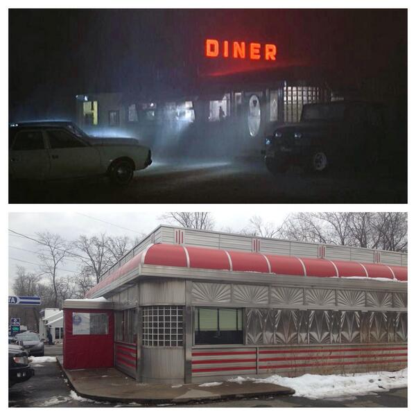 Blairstown diner – Friday the 13th