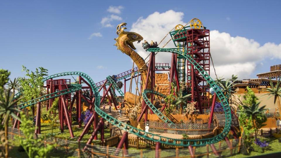 Montanha Cobra's Curse, Busch Gardens