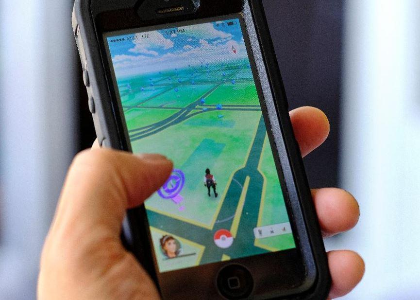 Imagem: Tela inicial do aplicativo Pokémon Go.