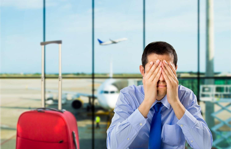 O que eu devo fazer quando perder um voo?