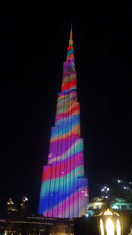 Burj Khalifa - o maior prédio do mundo