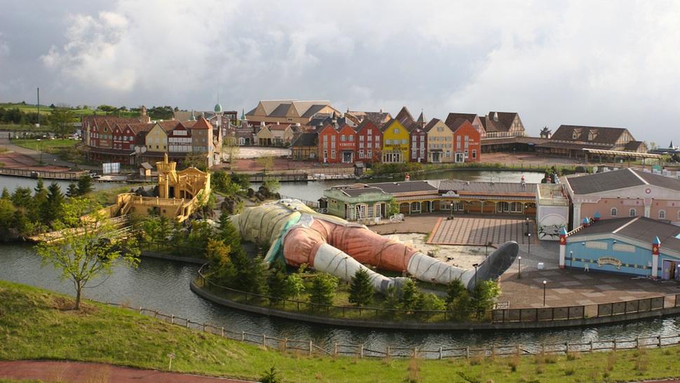 Parque das Viagens de Gulliver, Japão