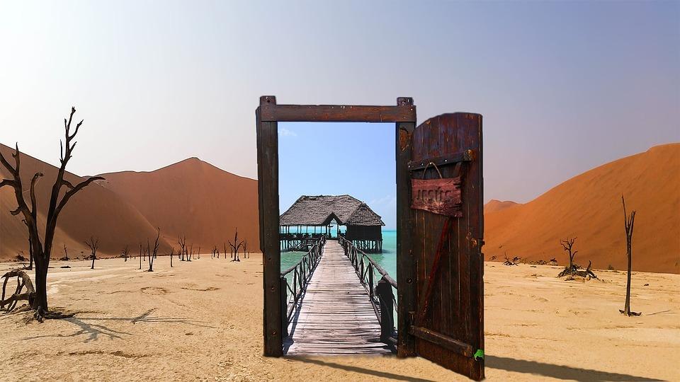 6 resorts luxuosos no meio do deserto