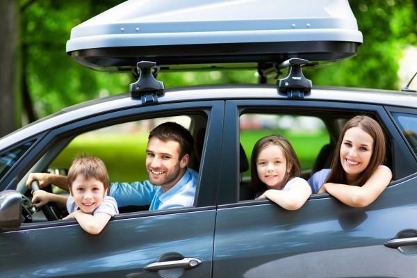 Atrações no carro para viagem com crianças